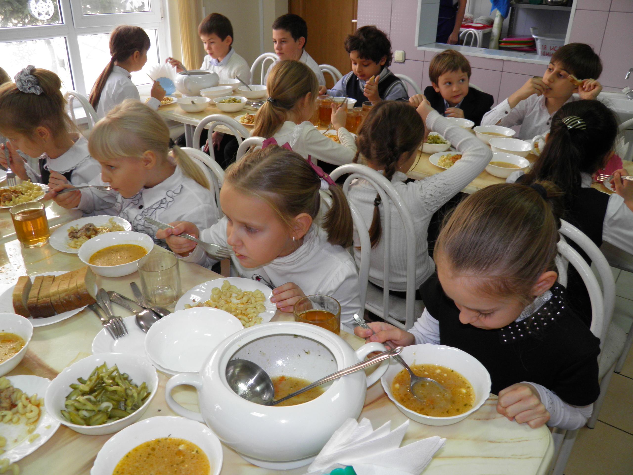 С 1 февраля учеников 1 и 2 классов Карагандинской области обеспечат бесплатными обедами