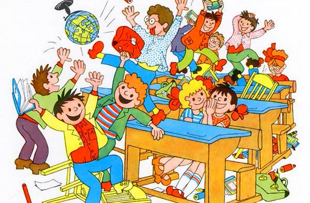 Прикольные рисунки школы